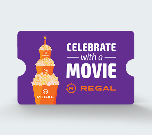 Celebrate with a Movie Gift Card