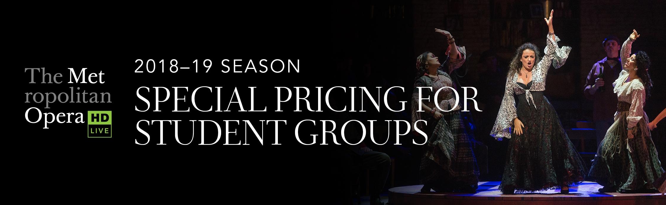 Metropolitan Opera Students Locations Regal Corporate Box Office